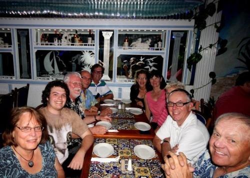 Loopers at Hellas Restaurant.