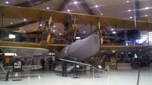 Navy NC4, first plane across the Atlantic.
