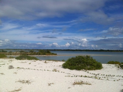 Pelican Bay, Cayo Costa State Park (photo from another boat since my card got full)