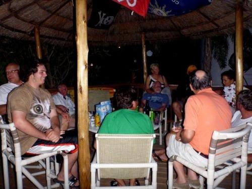 Looper Central, Tarpon Springs -- the Turtle Cove Tkik bar.