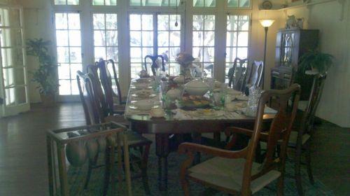 Edison's dining room.  Herbert Hoover ate here.
