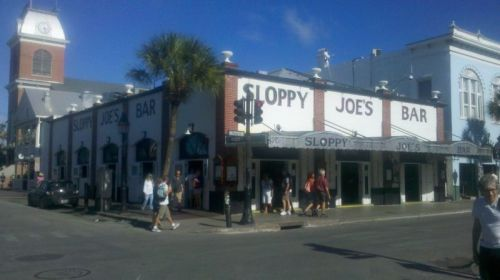 Sloppy Joes -- touristy, but how is anyone who has read every word Ernest Hemingway ever wrote going to stay away.