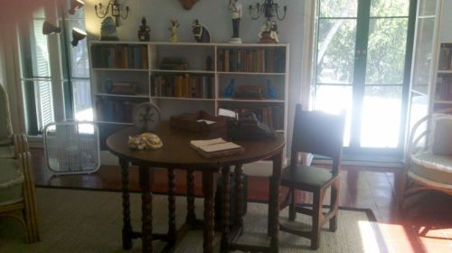 Hemingway's writing room, where he wrote A Farewell to Arms, Snows of Kilamanjaro and all the Nick Adams stories.