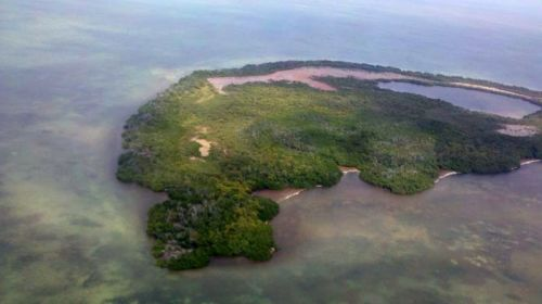 One of the Marquesas Keys, uninhabitated islands near Key West.