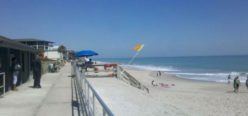 The Vero Beach beach.