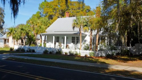 Pretty home in the historic district.