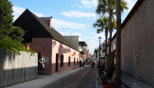 Old City Street.  Full of restuarants.  We had really good Yucatan food.
