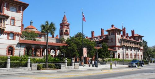Ponce Hotel, Henry's first and now the home of Flagler College.