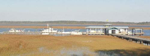 Sunbury Crab Company dock