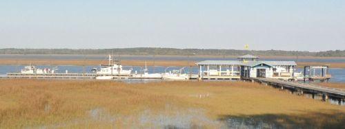 Sunbury Crab Company dock