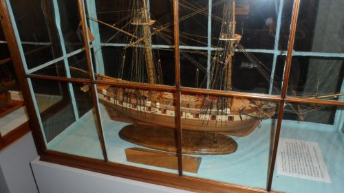 "Having read something like 200 works of naval fiction, I spent a lot of time with the small models like this brig.  The battleships are spectacular, but these really illustrate what the ""Age of Fighting Sail"" was all about."