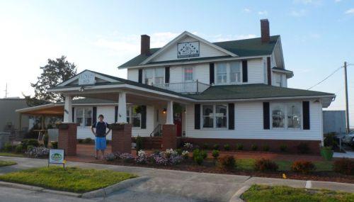 Floyds 1921 Restaurant Morehead City.  Worth a side trip.