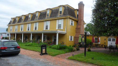 Robert Morris Inn, formerly the home of financier Robert Morris, principal backer of the American Revolution.